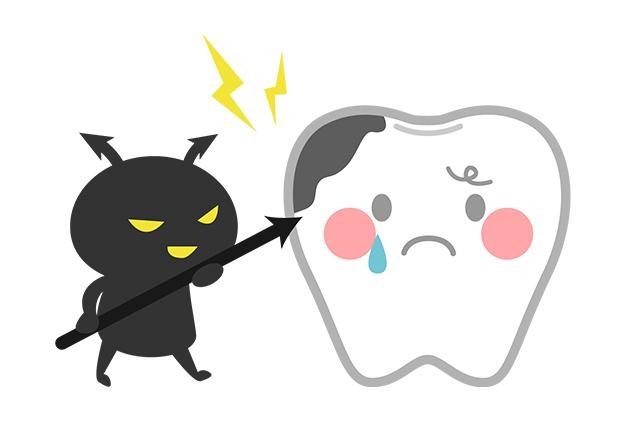 残存歯に虫歯ができていないか